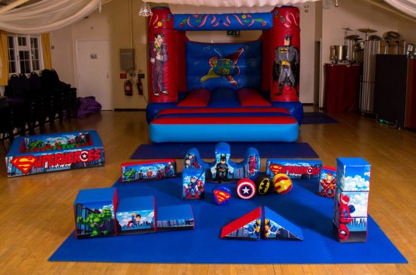 Superhero Soft Play Package
