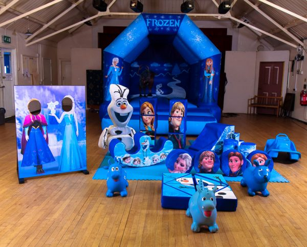 Frozen Silver Soft Play Package
