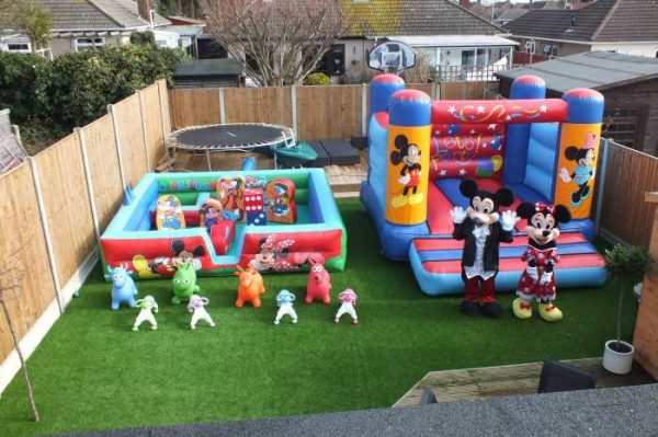 Minnie and Mickey Soft Play Package