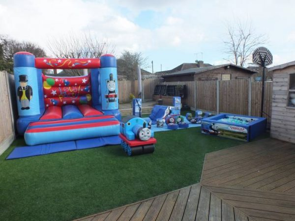 Thomas The Tank Engine Gold Soft Play Package