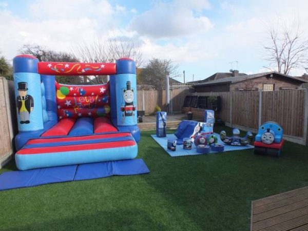 Thomas The Tank Engine Silver Soft Play Package