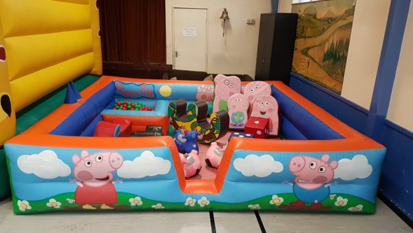 Peppa Pig Inflatable Surround With Soft Play