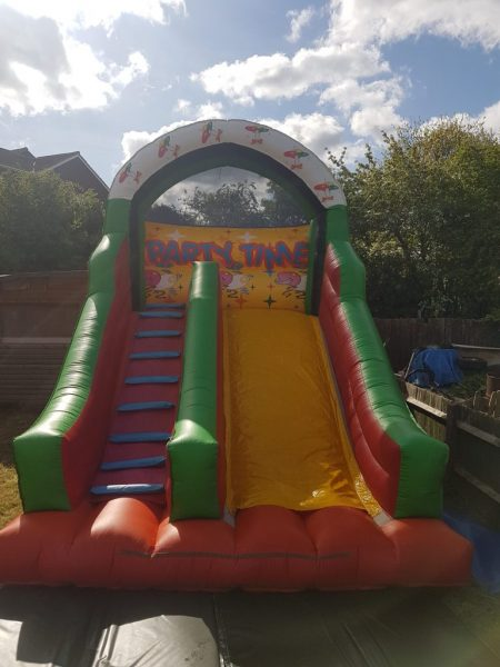 Let's Party Inflatable Slide