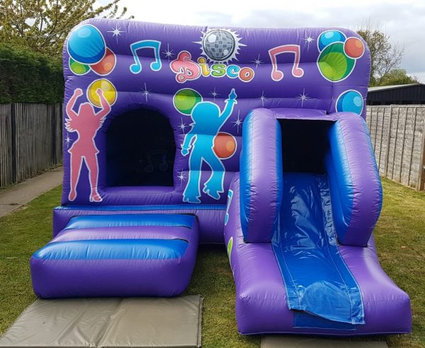 Musical Disco Castle With Slide