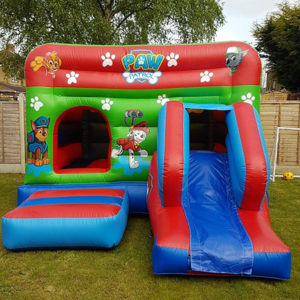 Paw Patrol Castle With Slide