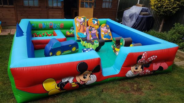 Minnie & Mickey Inflatable Surround With Soft Play