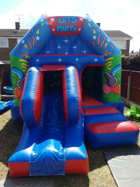 Let's Party Musical Castle With Slide