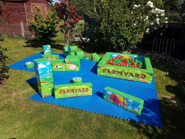 Farm Yard Soft Play Set