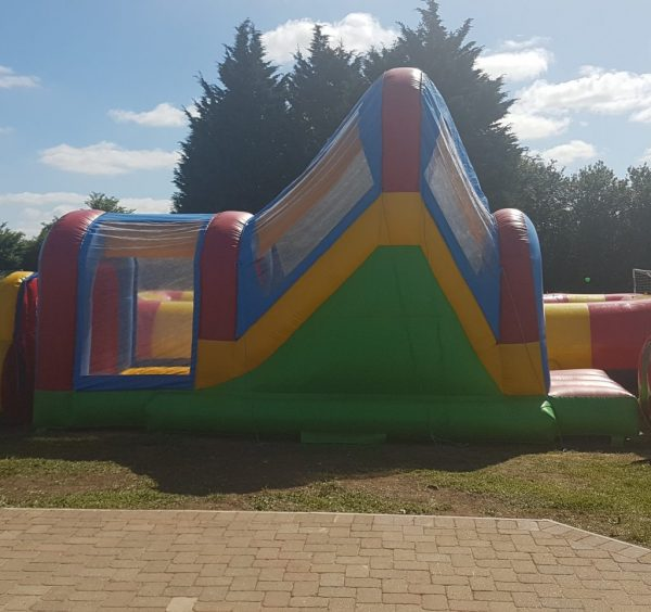Inflatable Slide With Ball Pit