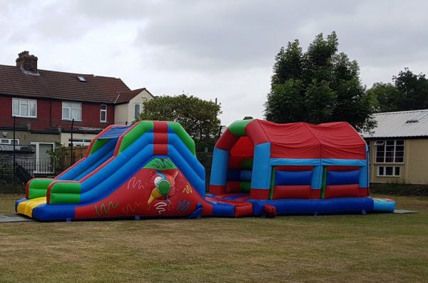 45 ft Velcro Themed Obstacle Course
