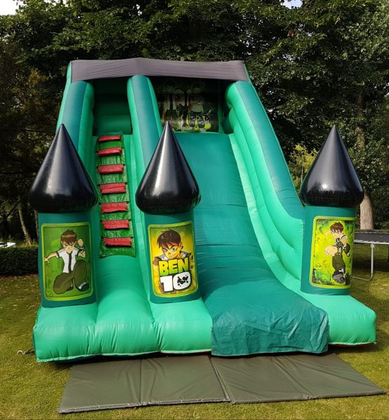 Ben 10 Inflatable Slide