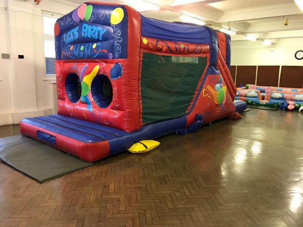 27ft Let's Party Obstacle Course