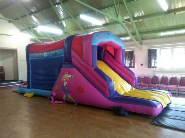 27ft Groovy Chick Obstacle Course