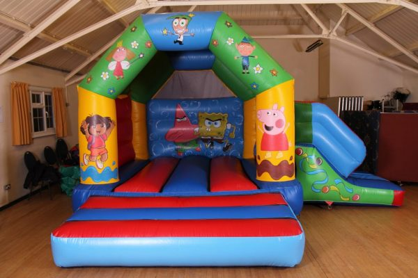 Nickelodeon Castle With Slide