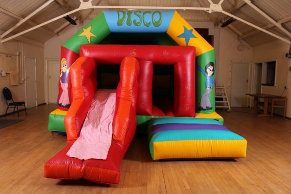 Disco Castle With Slide