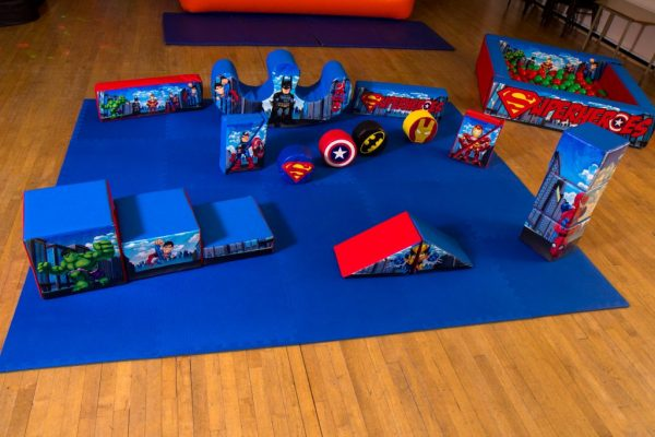 Superhero Soft Play Set
