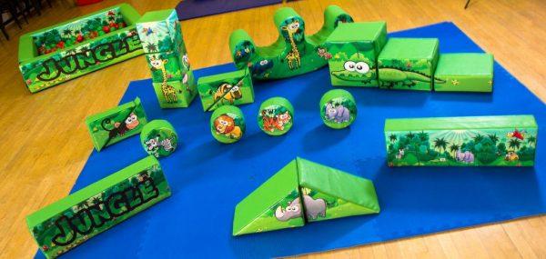 Jungle Soft Play Set