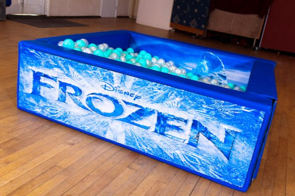 Frozen Ball Pit With Balls