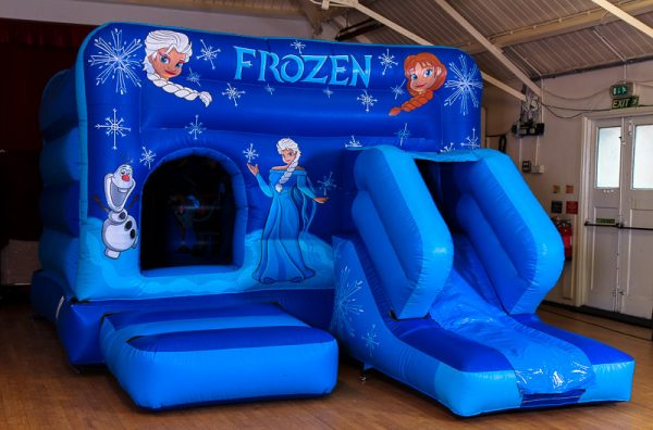Disney Frozen Castle With Slide