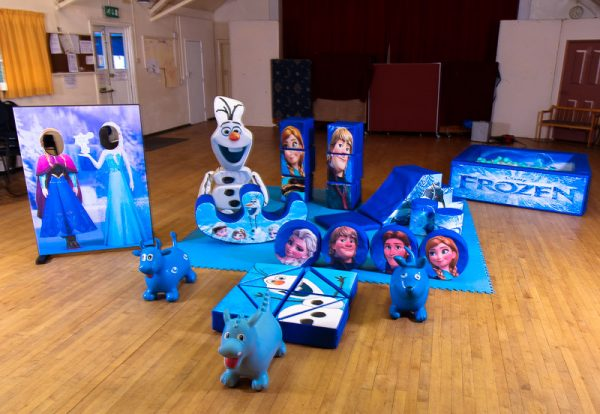 Frozen Soft Play Set