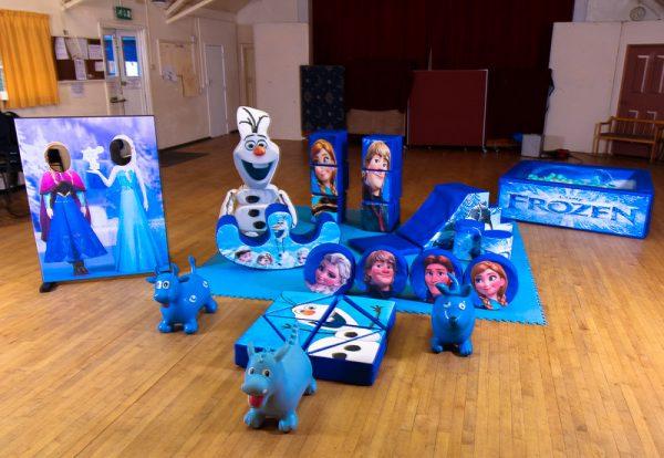 Frozen Soft Play Set