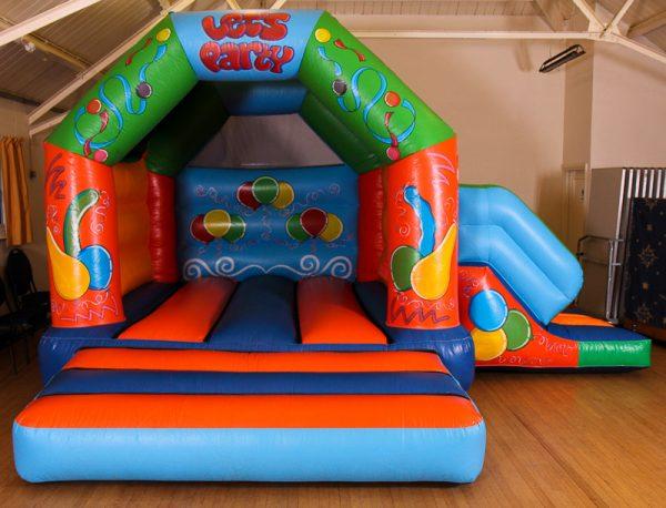 17 x 15 Let's Party Castle With Slide