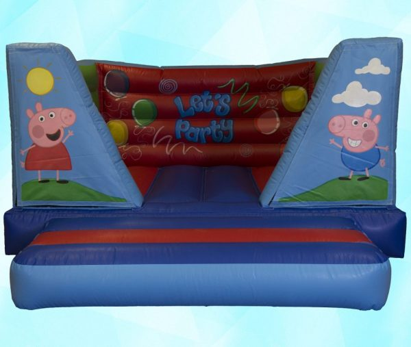 Peppa Pig 8ft Velcro Castle