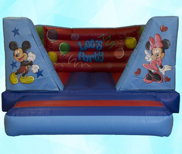Minnie & Mickey  8ft Velcro Castle