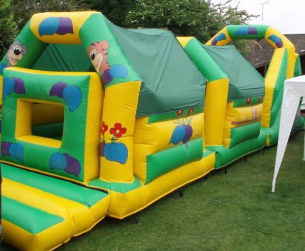 45 ft Jungle Obstacle Course