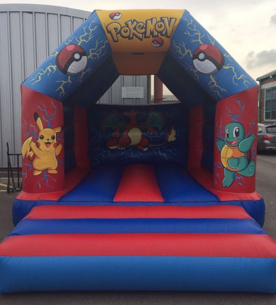 Deluxe Pokemon Musical Bouncy Castle