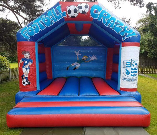 Football Themed Velcro Castle