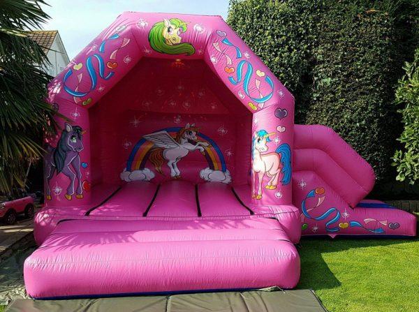 Unicorn Castle With Slide