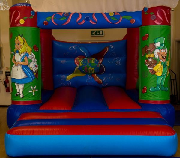 Alice in Wonderland Velcro Castle