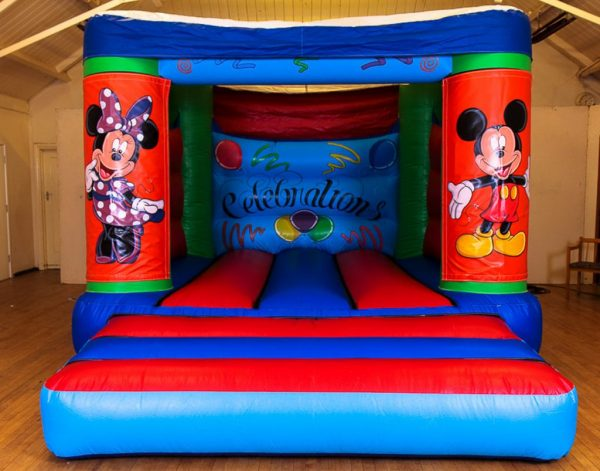 Minnie & Mickey Velcro Castle