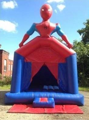 3D Spider-Man Castle