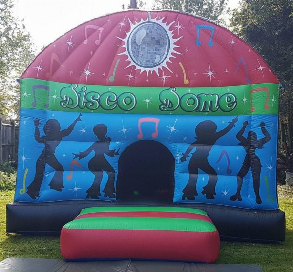 Red, Green & Blue Adult Musical Dome
