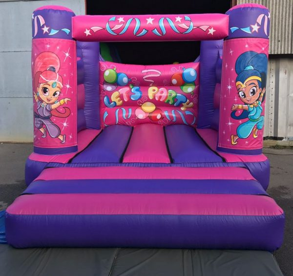 Shimmer & Shine Bouncy Castle