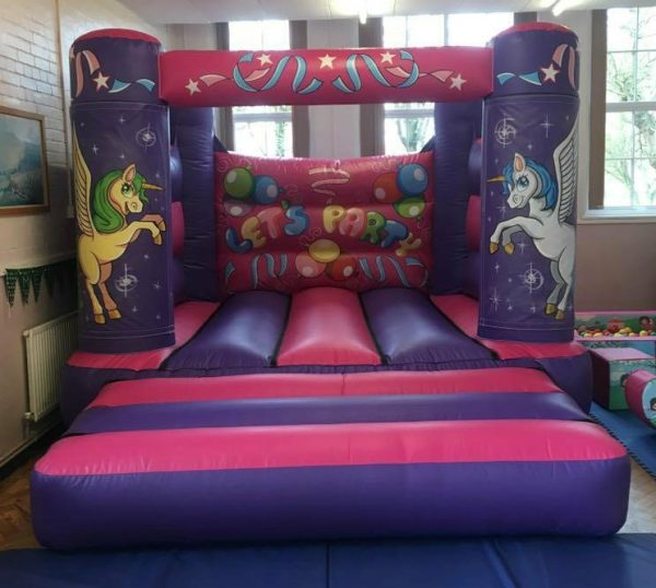 Unicorn Velcro Castle