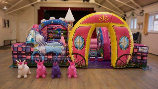 Deluxe Unicorn Inflatable Surround