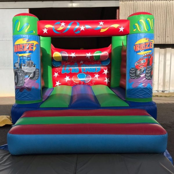 Blaze and the Monster Machines Bouncy Castle