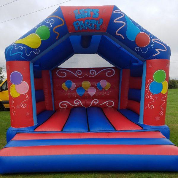 Let's Party Adult Bouncy Castle