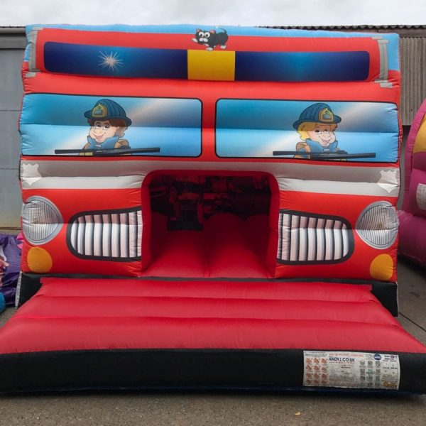 Fire Engine Bouncy Castle