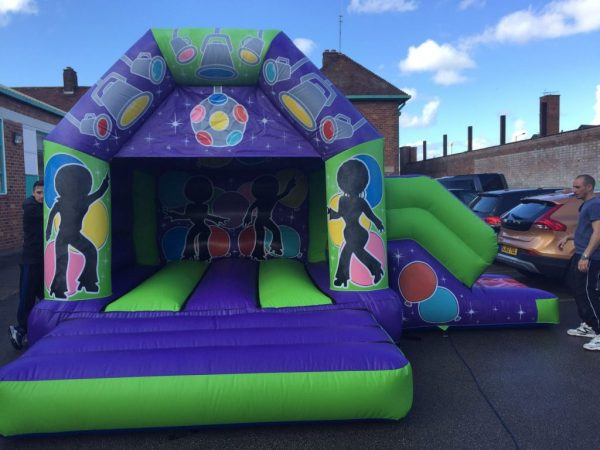 Disco Musical Castle With Slide