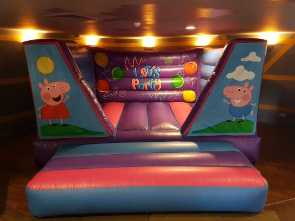 Pink Let's Party 8ft Velcro Castle
