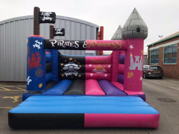 Pirate & Princess bouncy castle