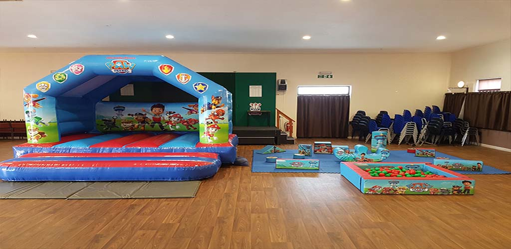 Paw Patrol Soft Play Package