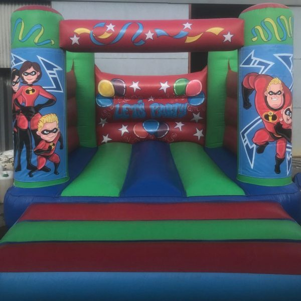 The Incredibles Velcro Castle