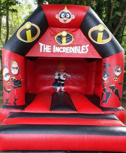 Incredibles Deluxe Bouncy Castle