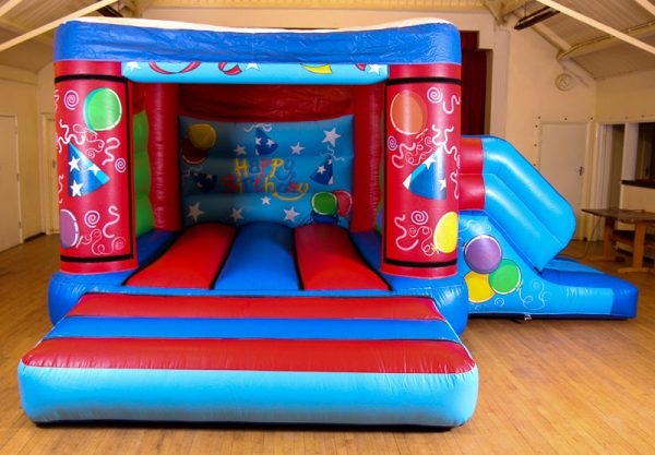 17 x 15 Velcro Castle With Slide – Changeable Themes