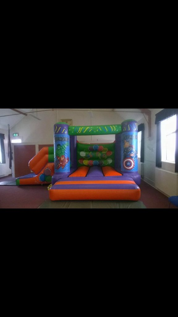 castle with slide